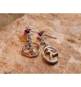 Earrings Hot Runner Girl 019J