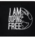 Cappellino I am doping free 010-IMCAPN