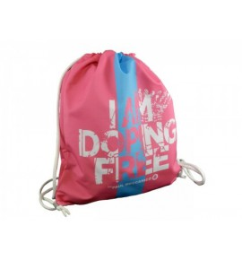Pink bag I am doping free by Paul Meccanico 013-IMPR