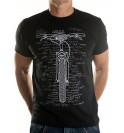 T-shirt Bike It List 006-TMNR