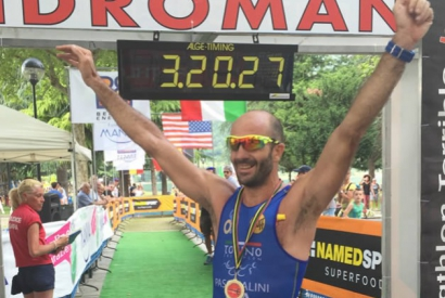 Bruno Pasqualini - from rowing to triathlon