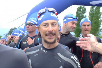Maurizio Piattoli - and his Meraviglie Triathlon (wonderful triathlon) in Prague